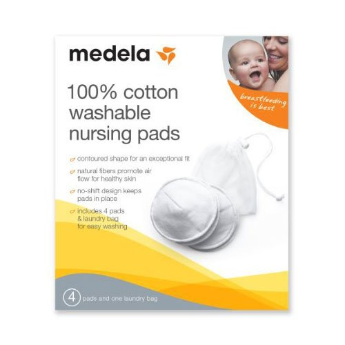 Medela Washable Nursing Pads 100% Cotton