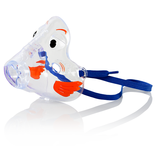 Pari Bubbles the Fish II Pediatric Aerosol Mask | Milk N