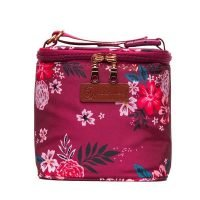 Sarah Wells Cold Gold Cooler Bag - Berry Bloom