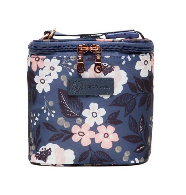 Sarah Wells Cold Gold Cooler Bag - La Floral