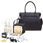 Medela Pump In Style Advanced Starter Set Mama Bundle with Claire Tote