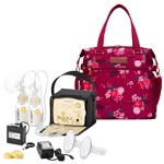 Medela Pump In Style Medela Pump In Style Advanced Starter Set Mama Bundle with Lizzy Tote
