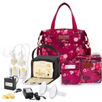 Medela Pump In Style Advanced Starter Set + Lizzy Bag Mega Mama Bundle
