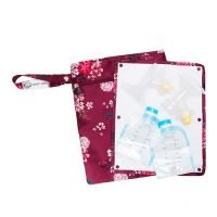 Sarah Wells Pumparoo wet/dry bag - Berry Bloom